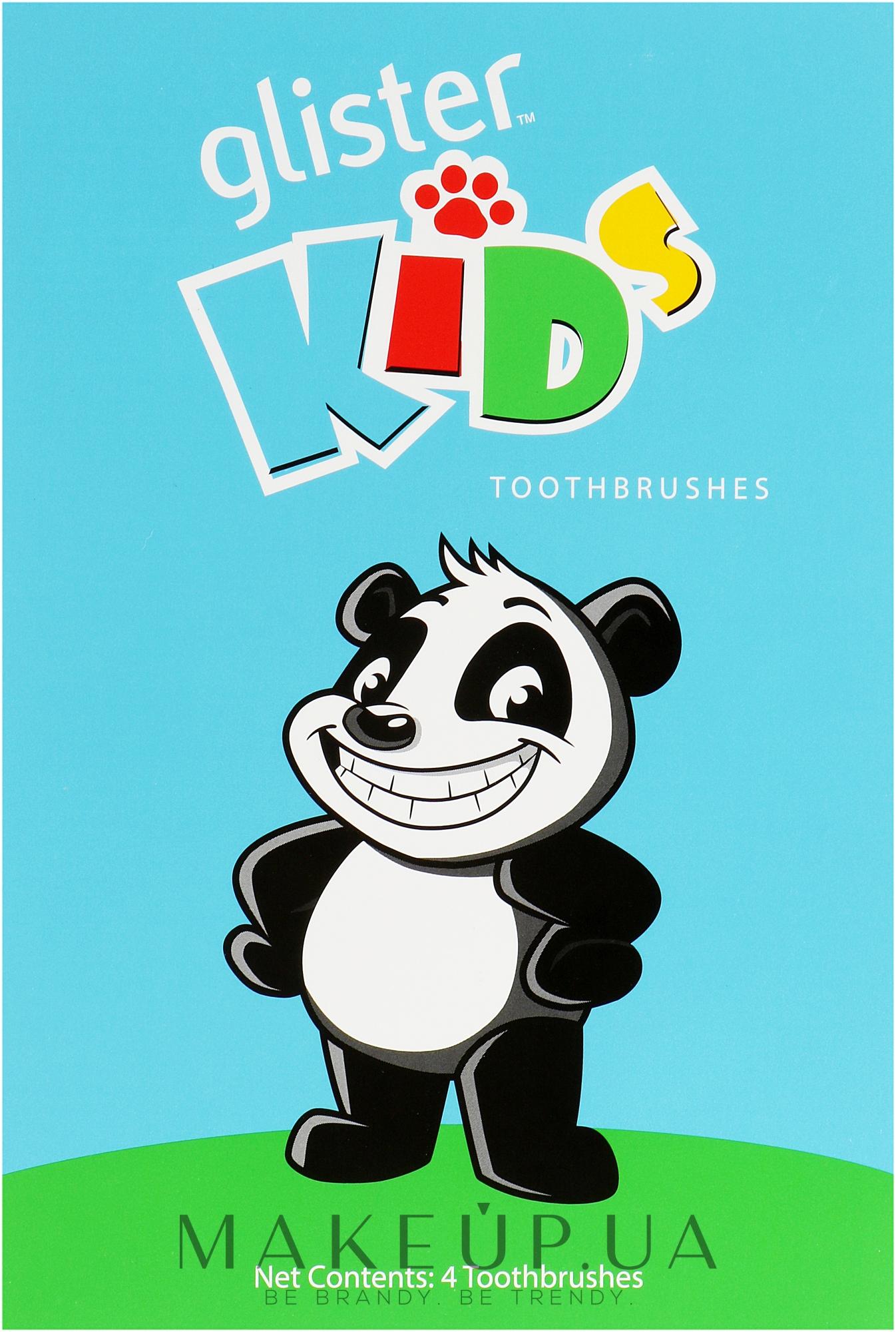 Зубные щетки для детей, 4 шт - Amway Glister Kids — фото 4шт