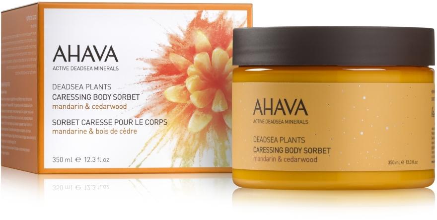 Крем-сорбет нежный для тела - Ahava Deadsea Plants Caressing Body Sorbet
