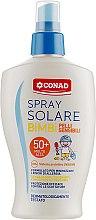 Духи, Парфюмерия, косметика Солнцезащитный крем для очень светлой детской кожи - Conad Latte Solare SPF50