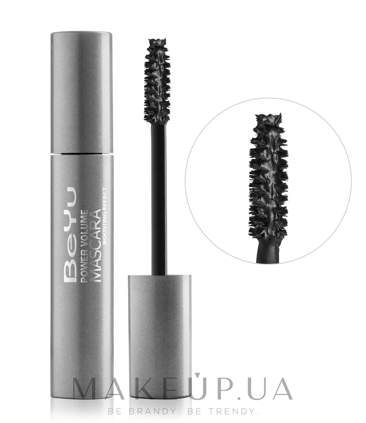 Тушь для ресниц с эффектом объема и удлинения - BeYu Power Volume Mascara Boosting Effect — фото 1