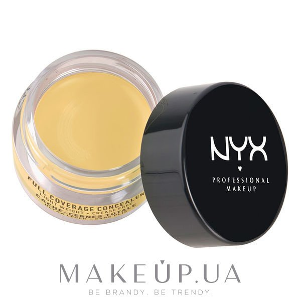 Консилер - NYX Professional Makeup Concealer In A Jar — фото 10 - Yellow