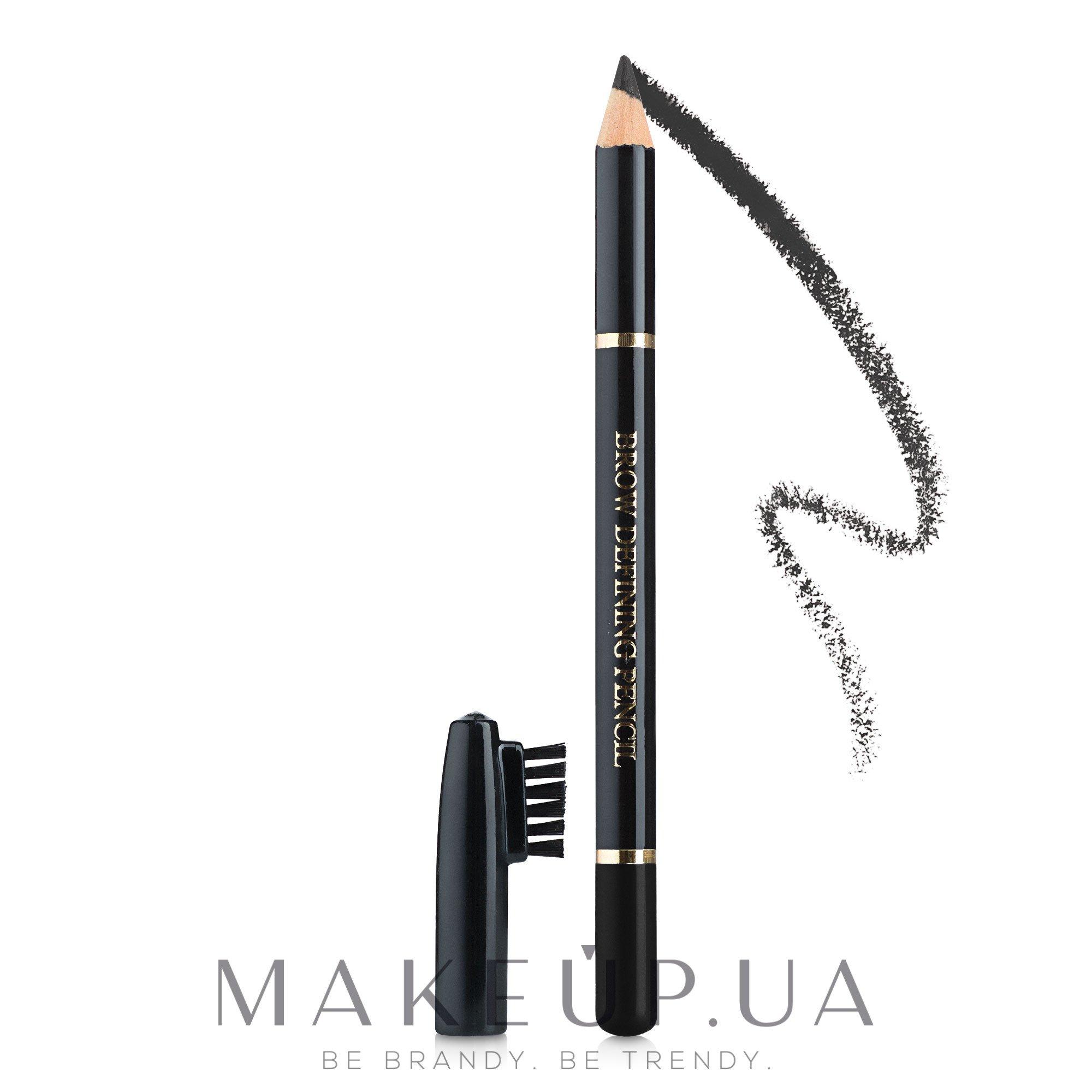Карандаш для бровей ML100 - FFleur Brow Defining Pencil  — фото 101 - Черный