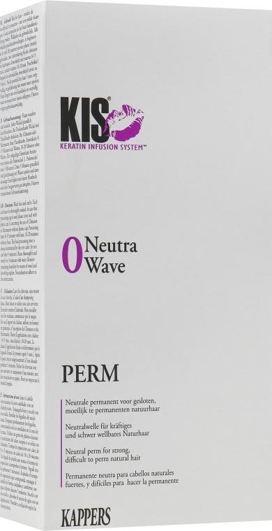 Засіб для хімічної завивки волосся, щадний, для товстого волосся - Kis NeutraWave 0 Perm — фото N1