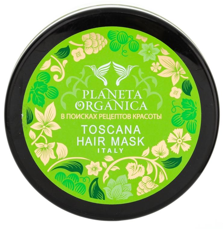 Маска для сухого і пошкодженого волосся - Planeta Organica Toscana Hair Mask — фото N4