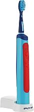 Духи, Парфюмерия, косметика Умная электрическая звуковая зубная щетка, синяя - Playbrush Smart Sonic Blue