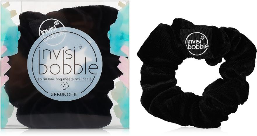 Резинка для волос, черная - Invisibobble Sprunchie True Black