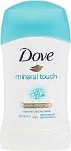"""Духи, Парфюмерия, косметика Дезодорант-стик """"Прикосновение минералов"""" - Dove Mineral Touch Deodorant"""