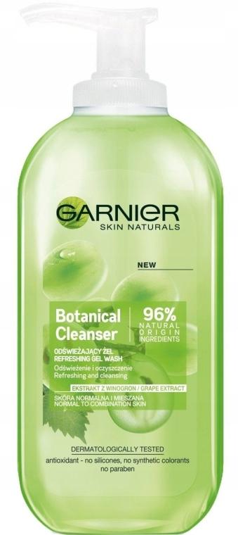 Освежающий гель для умывания с экстрактом винограда - Garnier Skin Naturals Botanical Grape Extract Refreshing Gel Wash
