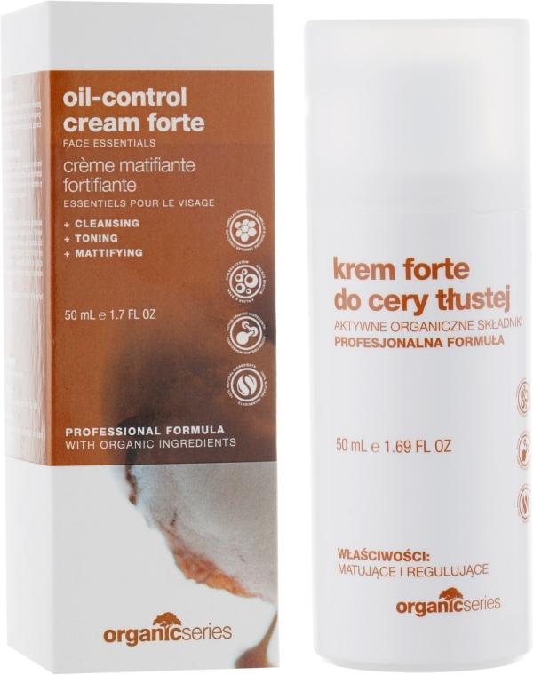 Крем для жирной кожи - Organic Series Oil-control Cream