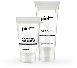 """Духи, Парфюмерия, косметика Набор """"Очищение и свежесть для мужской кожи лица и тела. Базовый комплекс 2"""" - Piel Cosmetics (gel/150ml + gel/250ml)"""