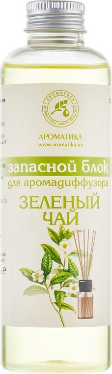 "Запасной блок для аромадиффузора ""Зеленый чай"" - Ароматика"