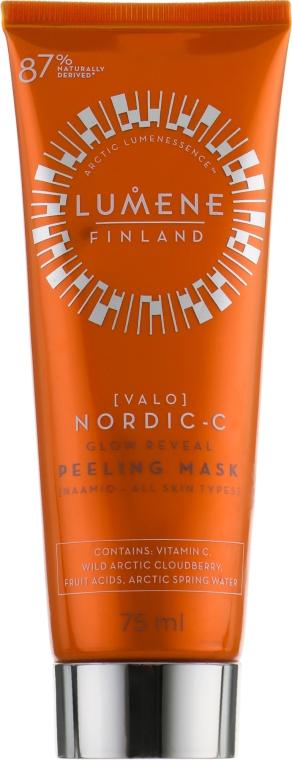 Отшелушивающая маска - Lumene Valo Peeling Mask