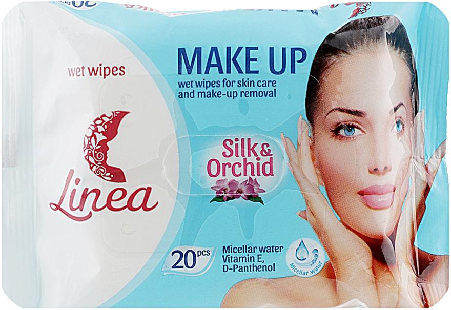"""Влажные салфетки для снятия макияжа """"Make Up"""" - Linea"""