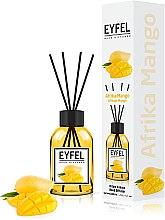 "Парфумерія, косметика Аромадифузор ""Африка манго"" - Eyfel Perfume Reed Diffuser African Mango"