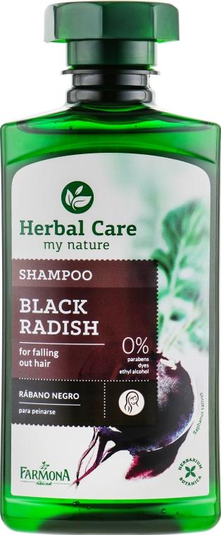 """Шампунь против выпадения волос """"Чёрная редька"""" - Farmona Herbal Care Shampoo"""