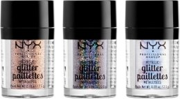 Духи, Парфюмерия, косметика Глиттер для лица и тела - NYX Professional Makeup Metallic Glitter