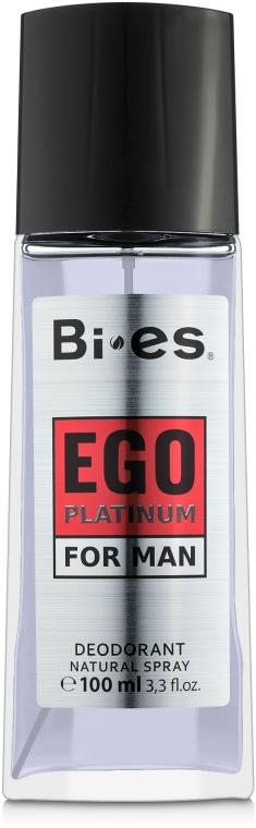 Bi-Es Ego Platinum - Парфюмированный дезодорант-спрей