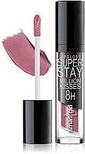 Парфумерія, косметика Суперстійкий матовий блиск для губ - BelorDesign Superstay Million Kisses