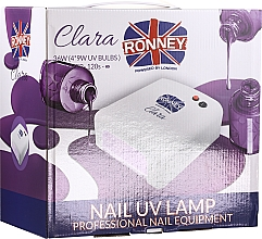 Духи, Парфюмерия, косметика Лампа для ногтей, красный - Ronney Professional Nail UV Lamp Clara 36W (GY-UV-818)