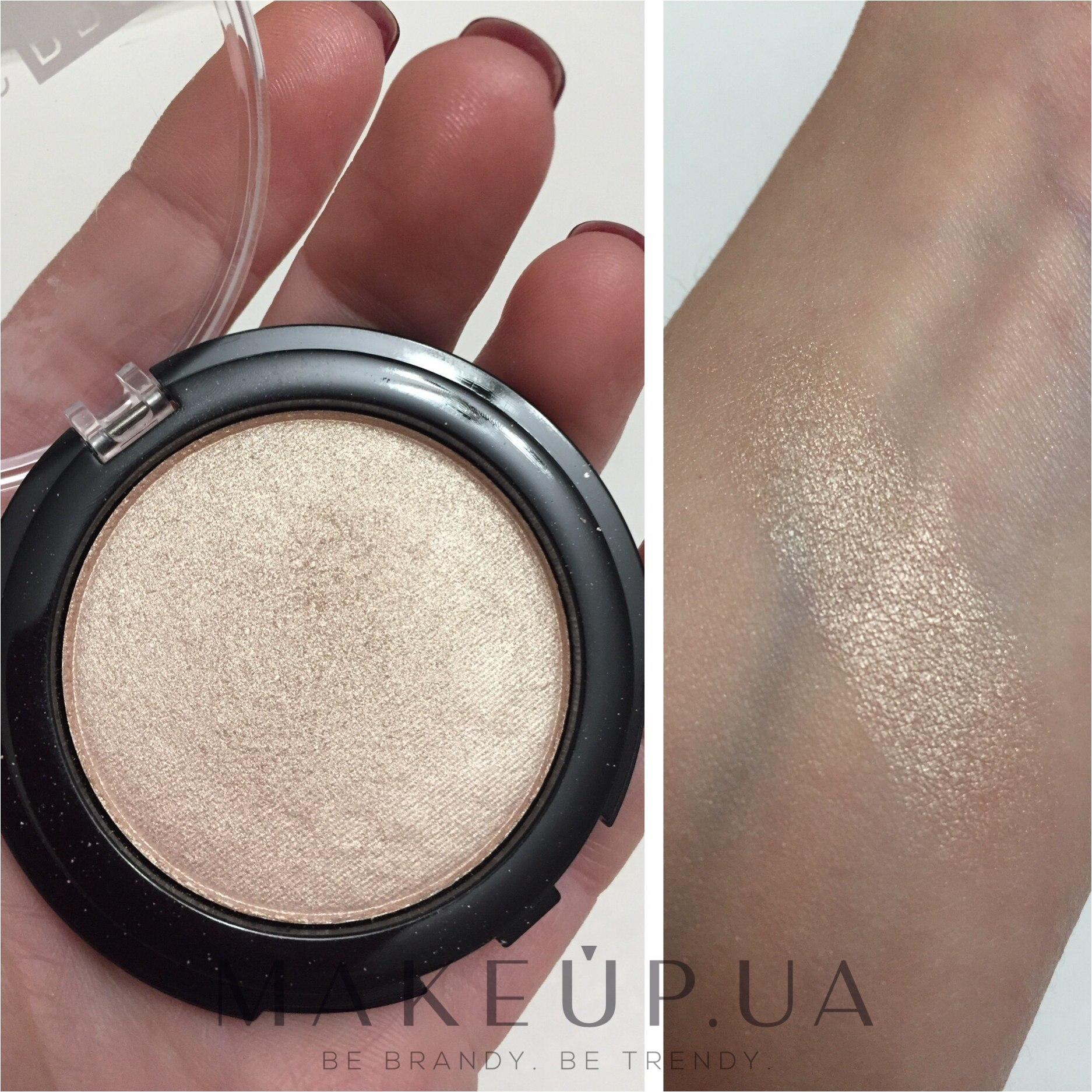 Makeup Geek Highlighter Compact  25oz  Target