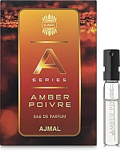 Духи, Парфюмерия, косметика Ajmal Amber Poivre - Парфюмированная вода (пробник)