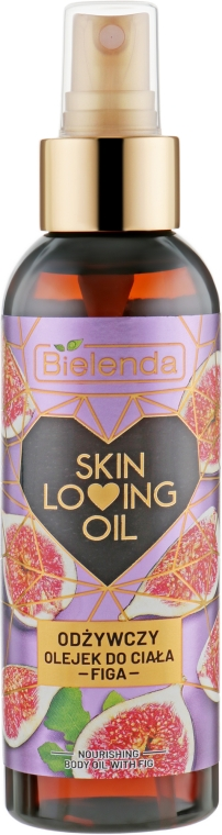 """Питательное масло для тела """"Инжир"""" - Bielenda Skin Loving Oil"""