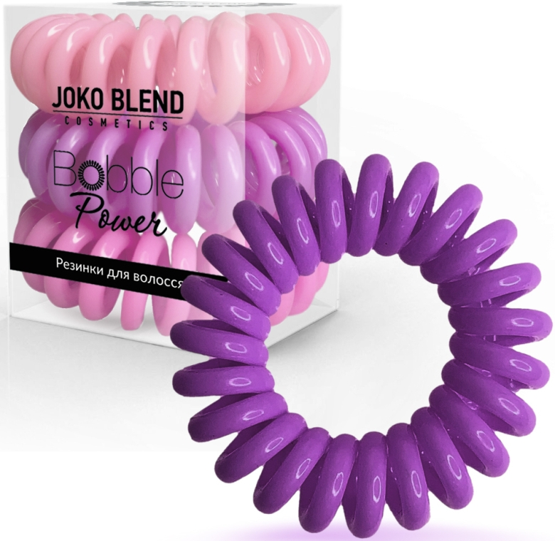 Резинки для волос - Joko Blend Power Bobble Bright Pink Mix