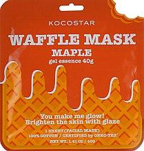 """Духи, Парфюмерия, косметика Омолаживающая вафельная маска """"Кленовый сироп"""" - Kocostar Maple Waffle Mask"""