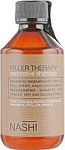 Духи, Парфюмерия, косметика Тонизирующий шампунь - Nashi Argan Filler Therapy Restorative Shampoo