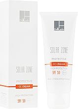 Духи, Парфюмерия, косметика Защитный крем с тоном - Dr. Kadir Solar Zone Protective CC Cream SPF 50