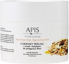 """Духи, Парфюмерия, косметика Сахарный пилинг для кожи рук """"Мюсли и сухофрукты"""" - APIS Professional Regenerating Muesli Sugar Peeling"""
