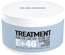 Духи, Парфюмерия, косметика Питательная маска для волос - E+46 Treatment