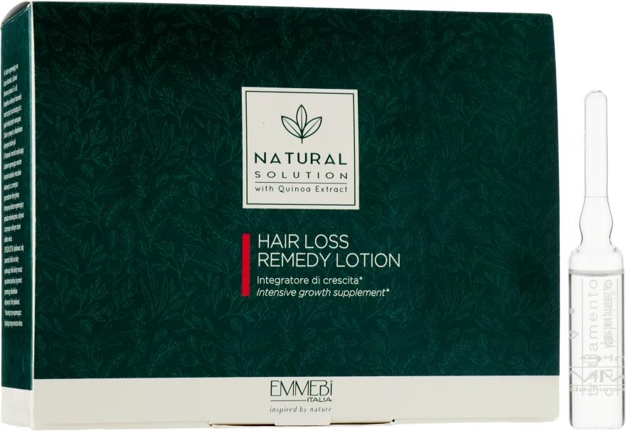 Ампулы от потери волос - Emmebi Italia Natural Solution Hair Loss Remedy