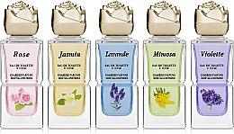 Парфумерія, косметика Charrier Parfums Parfums De Provence - Набір (edt/10.8 ml x 5)