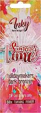 Духи, Парфюмерия, косметика Крем для загара в солярии с бронзантами, с витаминной эссенцией и подтягивающим эффектом - Inky Summer Time 50x Tanning Power (пробник)
