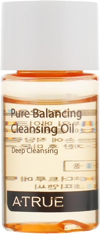 Балансирующе-очищающее масло для лица - A-True Pure Balancing Cleansing Oil (мини)