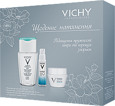 Духи, Парфюмерия, косметика Набір - Vichy Liftactiv (micel/water/100ml + gel/10ml + cr/15ml)