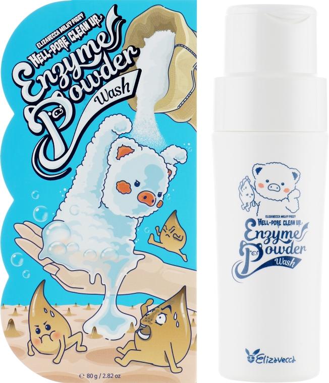 Гипоаллергенная энзимная пудра для умывания - Elizavecca Milky Piggy Hell-Pore Clean Up Enzyme Powder Wash