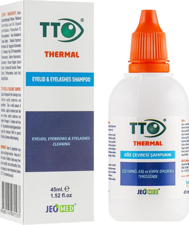 Шампунь для век и ресниц - TTO Thermal