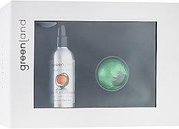 """Духи, Парфюмерия, косметика Набор """"Кокос-Мандарин"""" - Greenland (oil/120ml + accessory)"""
