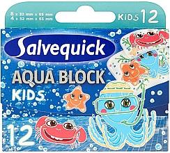 Духи, Парфюмерия, косметика Детские пластыри - Salvequick Aqua Block Kids Slices