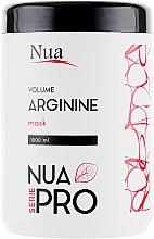 Духи, Парфюмерия, косметика Маска для волос для объема с аргинином - Nua Pro Volume with Arginine Mask