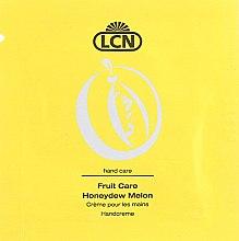 Духи, Парфюмерия, косметика Крем для рук с ароматом дыни - LCN Honeydew Melon Hand Cream (пробник)