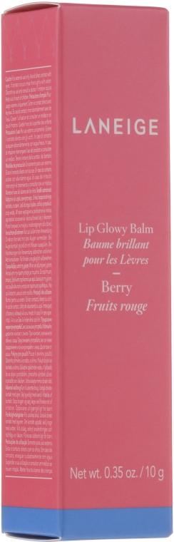 """Оттеночный блеск-бальзам для губ """"Ягода"""" - Laneige Lip Glowy Balm Berry"""