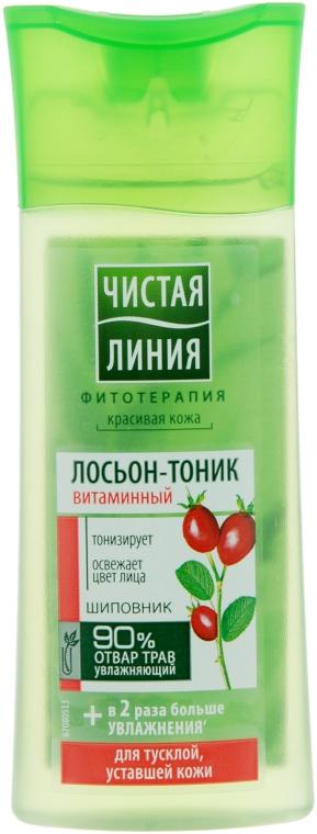 "Лосьон-тоник ""Витаминный"" - Чистая Линия — фото N1"