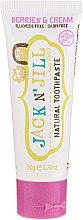Парфумерія, косметика Дитяча зубна паста зі смаком ягід з вершками - Jack N' Jill
