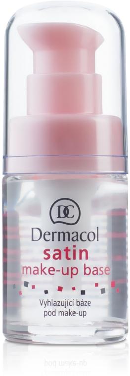 База под макияж матирующая с выравнивающим эффектом - Dermacol Satin Base Make-Up