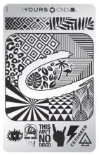 Духи, Парфюмерия, косметика Пластина для стемпинга - CND Stamp Plate
