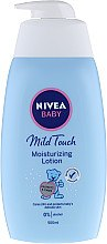 Духи, Парфюмерия, косметика Увлажняющее молочко для тела - Nivea Baby Mild Touch Moisturizing Lotion