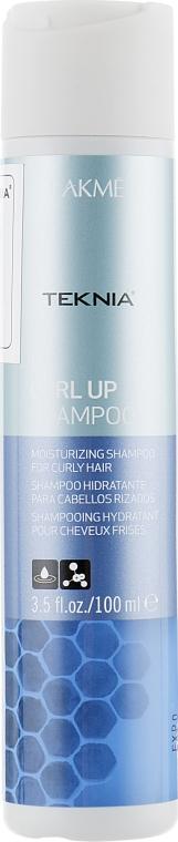 Восстанавливающий шампунь для вьющихся волос - Lakme Teknia Curl Up Shampoo